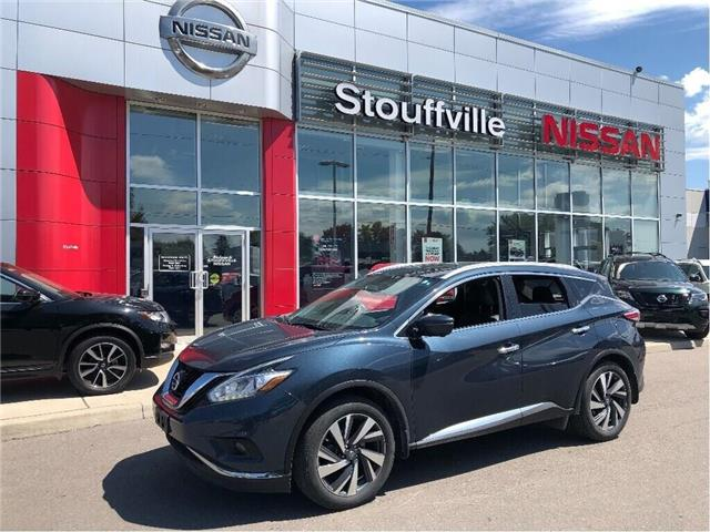 2016 Nissan Murano Platinum (Stk: SU0763) in Stouffville - Image 1 of 12