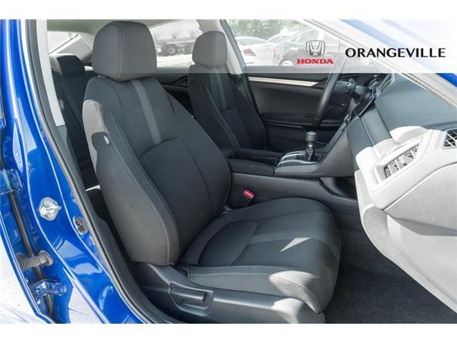 2018 Honda Civic LX (Stk: F19293A) in Orangeville - Image 16 of 19