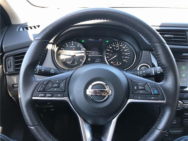 2019 Nissan Qashqai SL - Navi / Bluetooth / BlindSpot / Sunroof (Stk: UN995) in Newmarket - Image 11 of 24