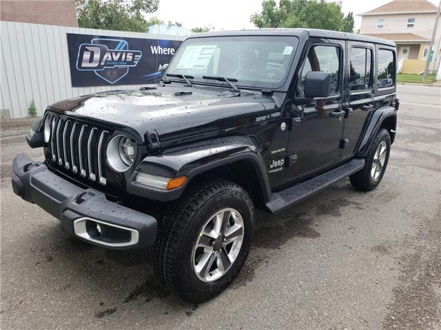 2020 Jeep JEEP WRANGLER UNLIMITED SAHARA - (Stk: 15697) in Fort Macleod - Image 1 of 21