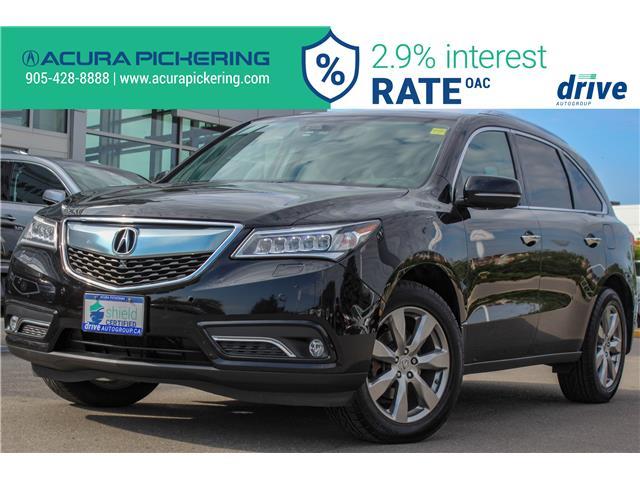 2016 Acura MDX Elite Package (Stk: AP4937) in Pickering - Image 1 of 36