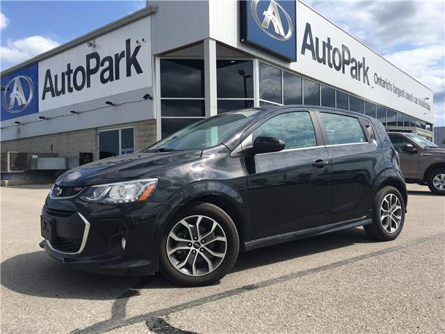 2018 Chevrolet Sonic LT Auto (Stk: ) in Barrie - Image 1 of 27