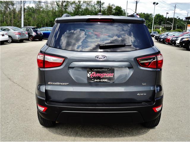 2018 Ford EcoSport SE (Stk: 1522) in Orangeville - Image 5 of 20