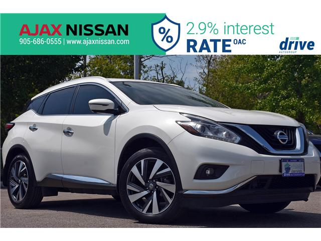 2017 Nissan Murano Platinum (Stk: U592A) in Ajax - Image 1 of 33