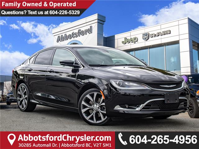 2016 Chrysler 200 C (Stk: AB0894) in Abbotsford - Image 1 of 25
