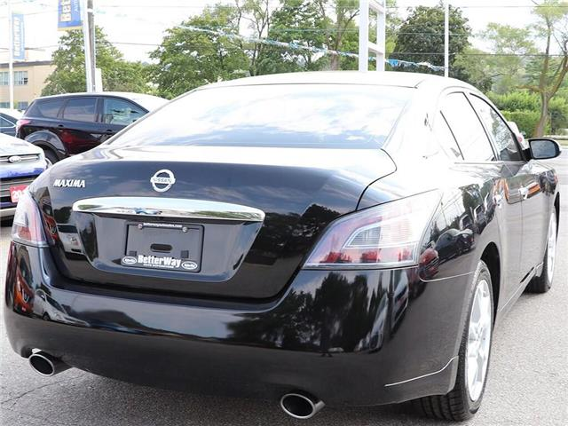 2014 Nissan Maxima SV| Leather| Sunroof| Backup Cam| Loaded! (Stk: 5439A) in Stoney Creek - Image 9 of 21