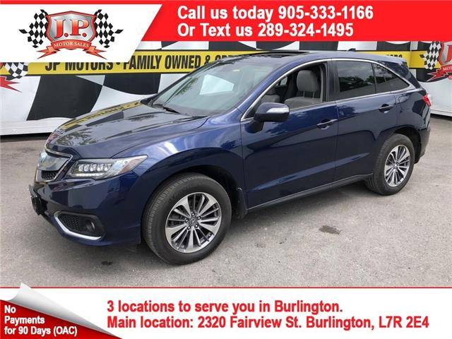 2017 Acura RDX Elite (Stk: 47672) in Burlington - Image 1 of 17