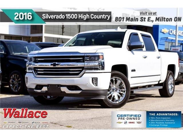 2016 Chevrolet Silverado 1500 High Country/SUNRF/HTD CLD LTHR STS/20s/TRAILR PK (Stk: PL5251) in Milton - Image 1 of 26