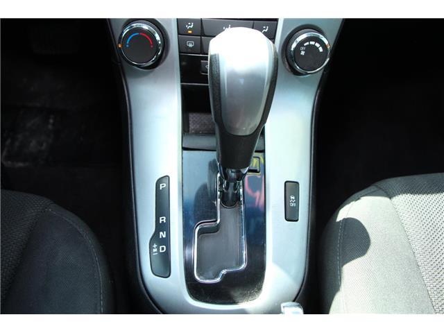 2012 Chevrolet Cruze LT Turbo (Stk: P9144) in Headingley - Image 14 of 17