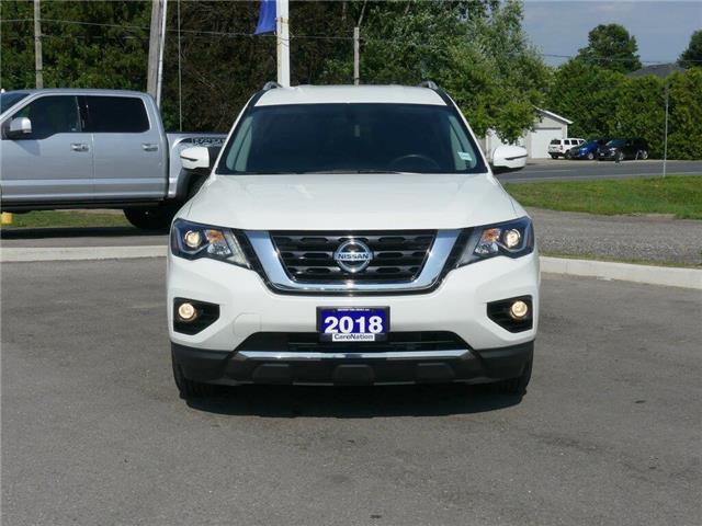 2018 Nissan Pathfinder SV | AWD | NAV | HTD SEATS | 3 ROWS | PUSH START | (Stk: DR308) in Brantford - Image 2 of 46