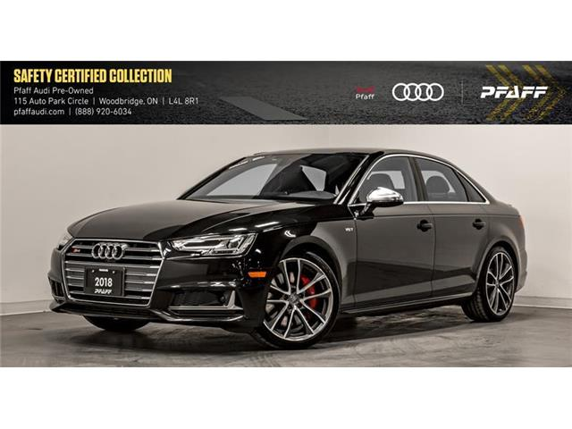 2018 Audi S4 3.0T Technik (Stk: C7010) in Vaughan - Image 1 of 22
