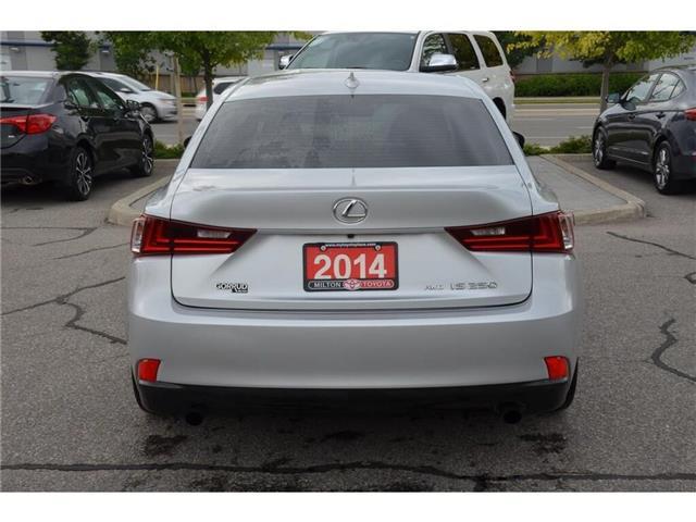 2014 Lexus IS 250 Base (Stk: 002598) in Milton - Image 16 of 20