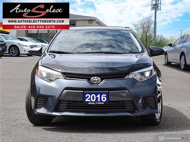 2016 Toyota Corolla  (Stk: 16TCRG3) in Scarborough - Image 2 of 28