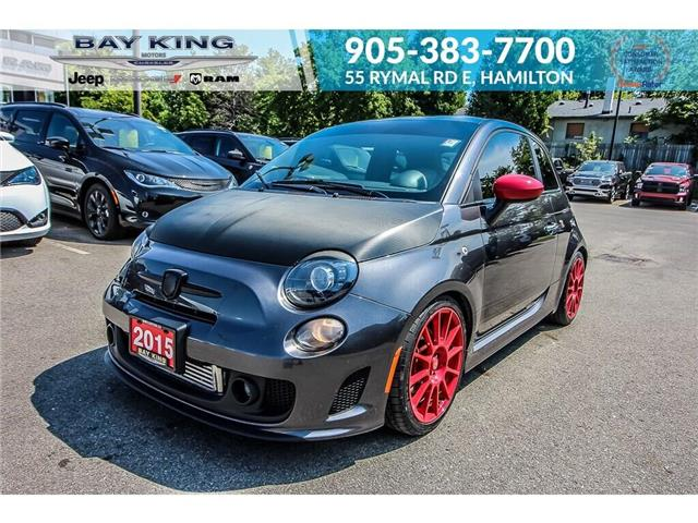 2015 Fiat 500 Abarth (Stk: 197302A) in Hamilton - Image 1 of 18
