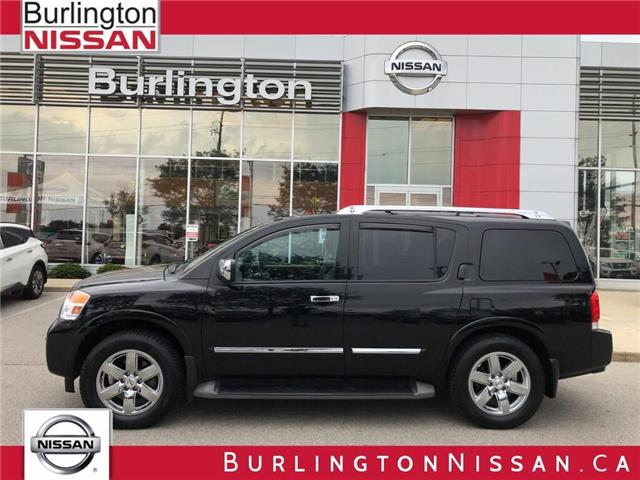 2014 Nissan Armada Platinum (Stk: A6774) in Burlington - Image 1 of 21