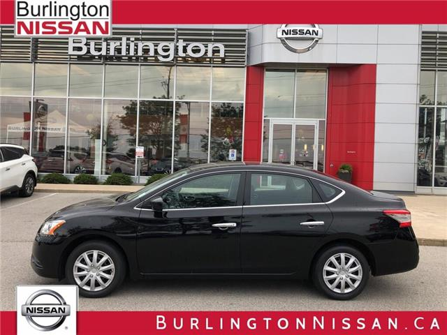 2014 Nissan Sentra SV (Stk: Y6029A) in Burlington - Image 1 of 18