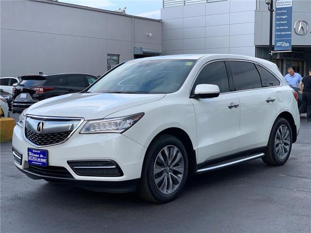 2016 Acura MDX Navigation Package (Stk: 4086) in Burlington - Image 2 of 30