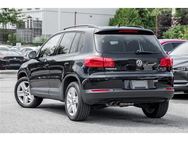 2016 Volkswagen Tiguan Comfortline (Stk: 19-407A) in Richmond Hill - Image 5 of 19