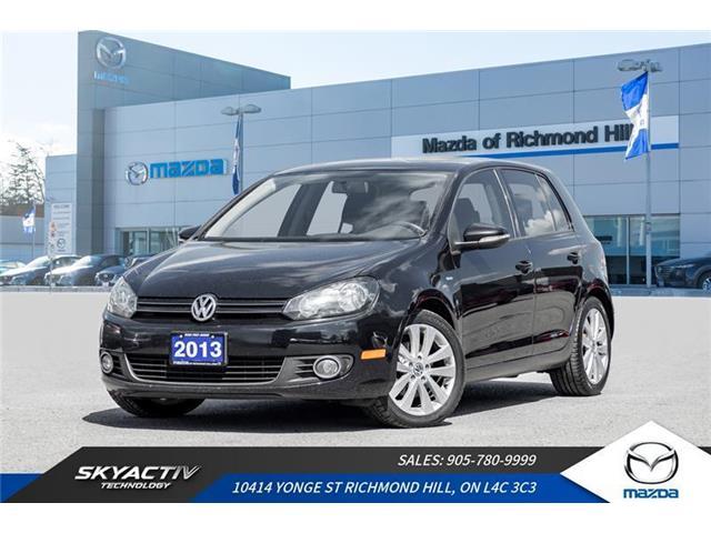 2013 Volkswagen Golf Wolfsburg Edition 2.5L (Stk: P0441) in Richmond Hill - Image 1 of 18
