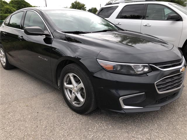2016 Chevrolet Malibu 1FL (Stk: ) in Kemptville - Image 1 of 11