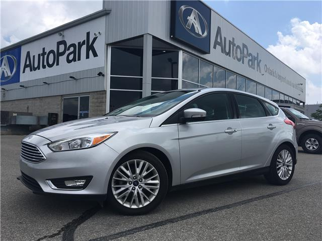 2018 Ford Focus Titanium (Stk: 18-90007RJB ) in Barrie - Image 1 of 28