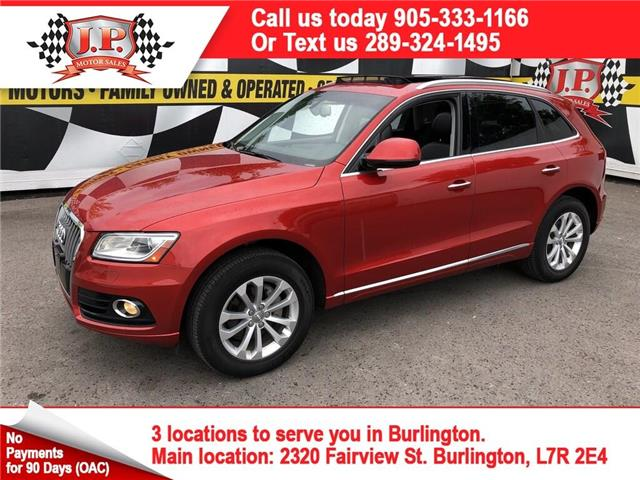 2016 Audi Q5 2.0T Progressiv (Stk: 47680) in Burlington - Image 1 of 14