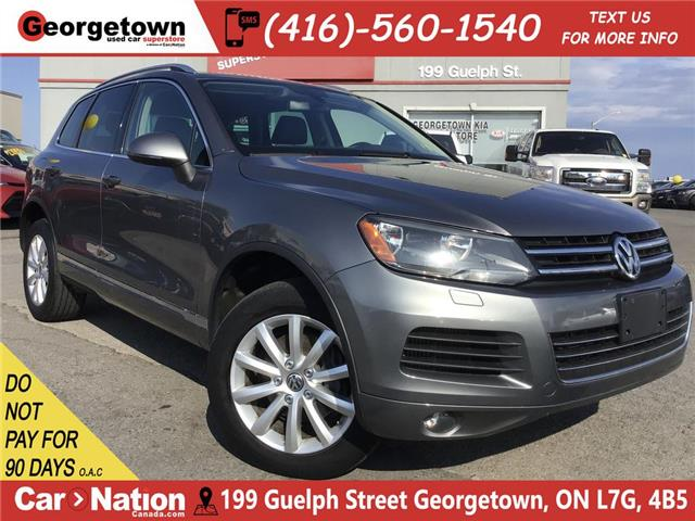 2014 Volkswagen Touareg 3.0 TDI | NAVI | BACK UP | LEATHER | AWD | DIESEL (Stk: P12277A) in Georgetown - Image 1 of 27
