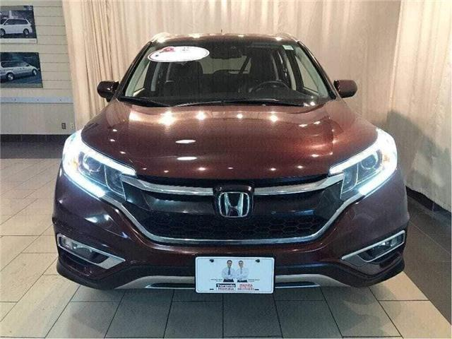 2015 Honda CR-V Touring| Honda Compr Warranty till 2022/200,000km (Stk: 38794) in Toronto - Image 2 of 30