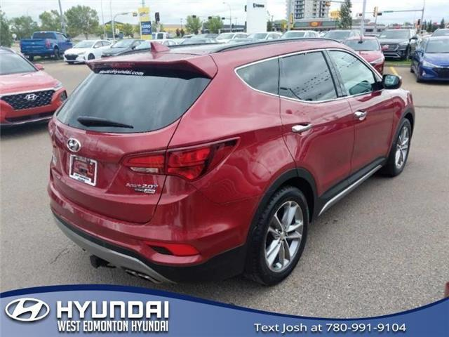 2017 Hyundai Santa Fe Sport  (Stk: 95161A) in Edmonton - Image 6 of 27