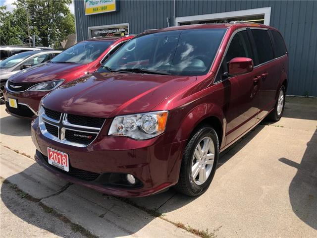 2018 Dodge Grand Caravan Crew (Stk: 88311) in Belmont - Image 1 of 21