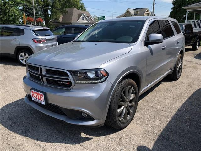 2018 Dodge Durango GT (Stk: 27825) in Belmont - Image 1 of 18