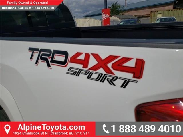 2017 Toyota Tacoma TRD Sport (Stk: X835112A) in Cranbrook - Image 23 of 24