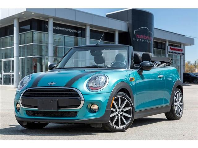 2017 MINI Convertible Cooper (Stk: 19HMS668A) in Mississauga - Image 1 of 20