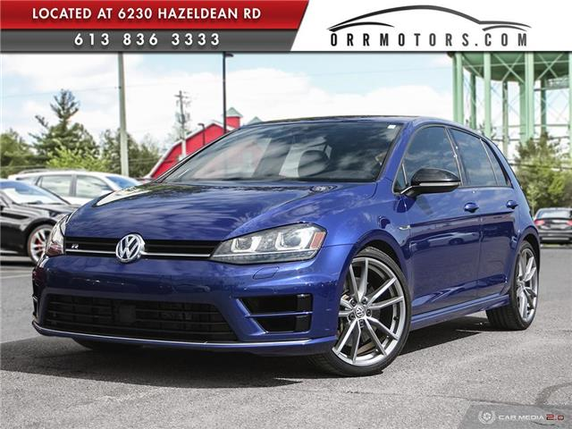 2017 Volkswagen Golf R 2.0 TSI (Stk: 5842) in Stittsville - Image 1 of 27