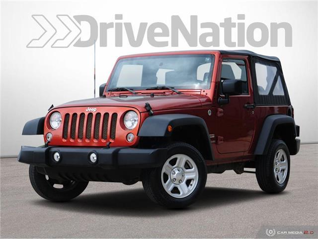 2014 Jeep Wrangler Sport (Stk: WE280B) in Edmonton - Image 1 of 28