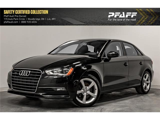 2016 Audi A3 2.0T Komfort (Stk: C6883) in Woodbridge - Image 1 of 21