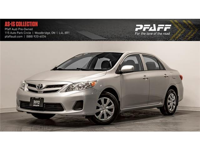 2012 Toyota Corolla CE (Stk: C6903A) in Woodbridge - Image 1 of 20