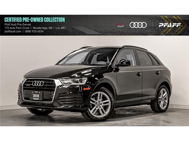 2018 Audi Q3 2.0T Komfort (Stk: C7013) in Woodbridge - Image 1 of 22