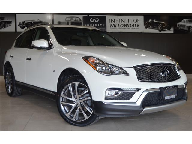 2017 Infiniti QX50 Base (Stk: H6947A) in Thornhill - Image 2 of 30
