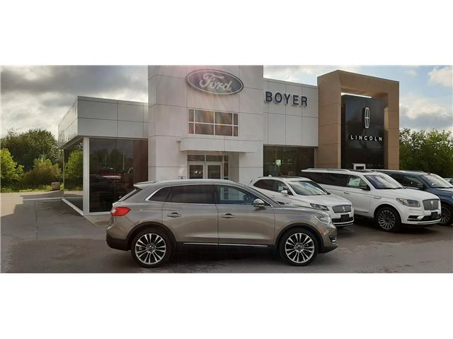 2017 Lincoln MKX Reserve 2LMPJ8LP7HBL17920 L1341A in Bobcaygeon