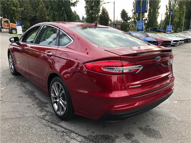 2019 Ford Fusion Hybrid Titanium (Stk: CP19289) in Vancouver - Image 3 of 25