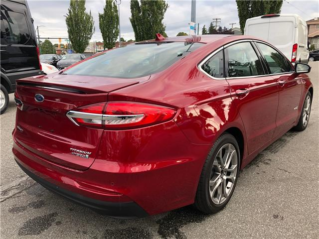 2019 Ford Fusion Hybrid Titanium (Stk: CP19289) in Vancouver - Image 5 of 25