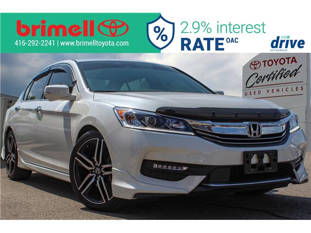 2017 Honda Accord Sport (Stk: 196947A) in Scarborough - Image 1 of 30