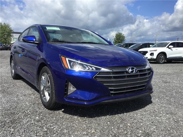 2020 Hyundai Elantra Preferred w/Sun & Safety Package (Stk: R05056) in Ottawa - Image 1 of 10