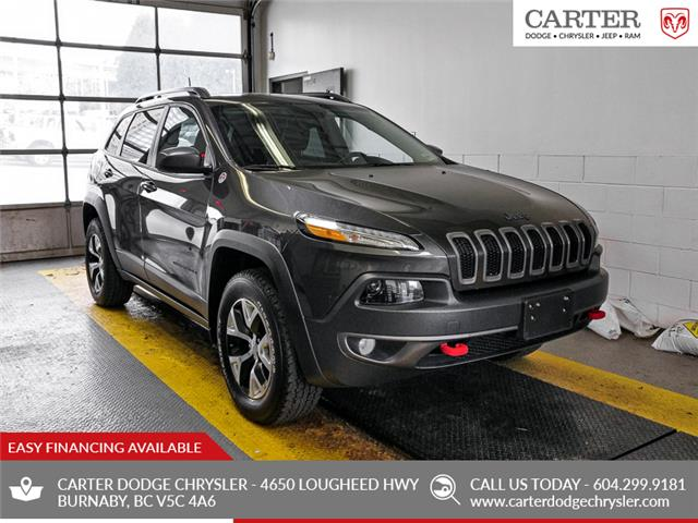 2016 Jeep Cherokee Trailhawk (Stk: 9-6126-1) in Burnaby - Image 1 of 25