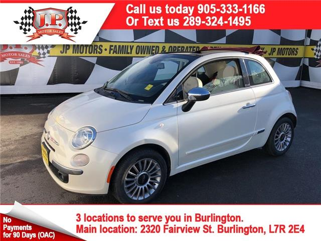 2014 Fiat 500C Lounge (Stk: 46191) in Burlington - Image 1 of 25