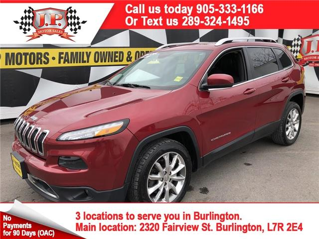 2014 Jeep Cherokee Limited (Stk: 46446A) in Burlington - Image 1 of 28