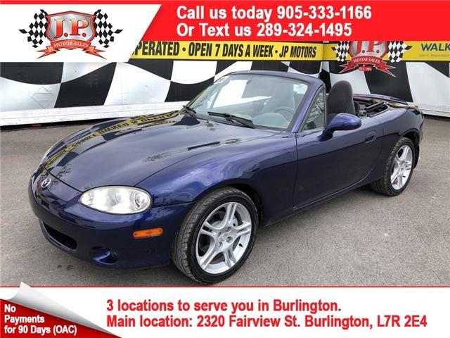 2004 Mazda MX-5 Miata  (Stk: 46897) in Burlington - Image 1 of 23