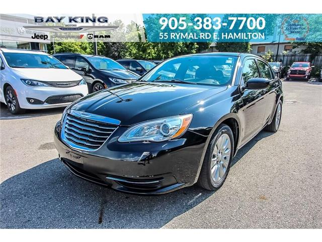 2014 Chrysler 200 LX (Stk: 6846RC) in Hamilton - Image 1 of 19