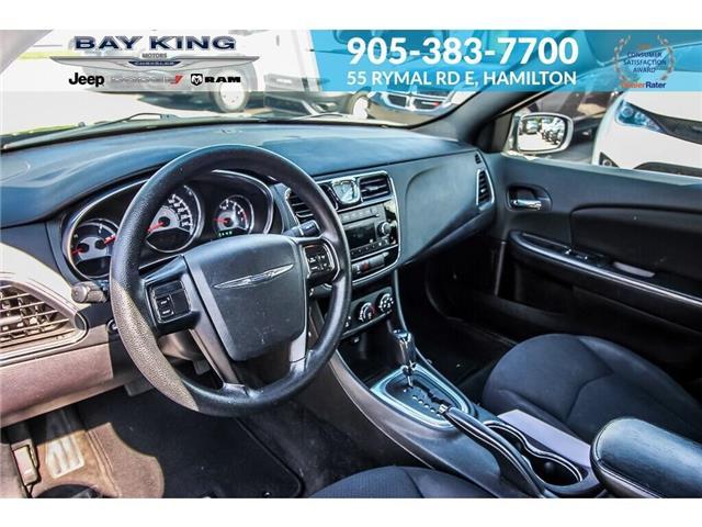 2014 Chrysler 200 LX (Stk: 6846RC) in Hamilton - Image 4 of 19